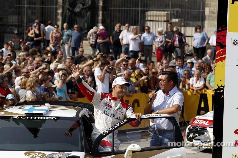 Mikko Hirvonen, Citroen DS3 WRC #2, Citroen Total Abu Dhabi World Rally Team