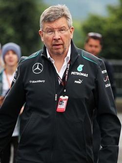 Ross Brawn, Mercedes AMG F1 Director del equipo
