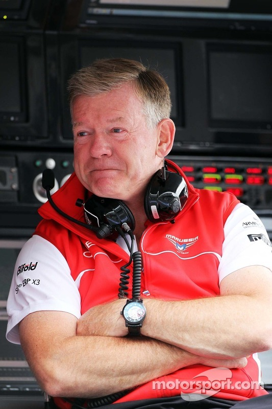 Andy Webb, Marussia F1 Team CEO