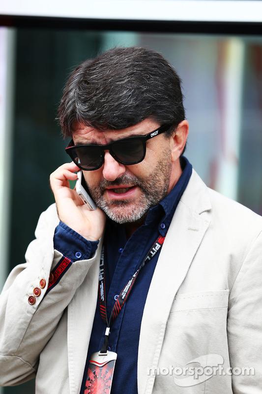 Luis Garcia Abad, Empresário do Fernando Alonso, Ferrari