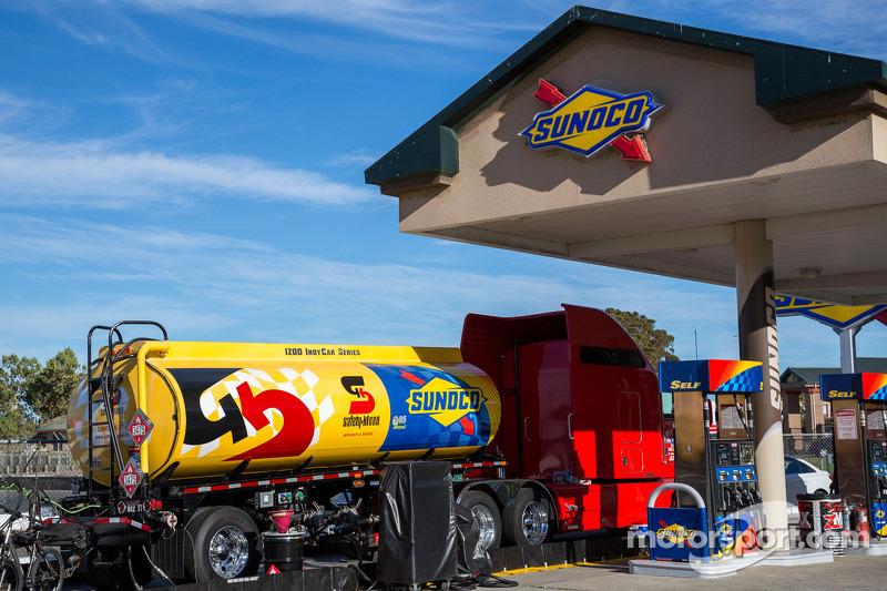 Plenty of petrol on hand at Sonoma raceway