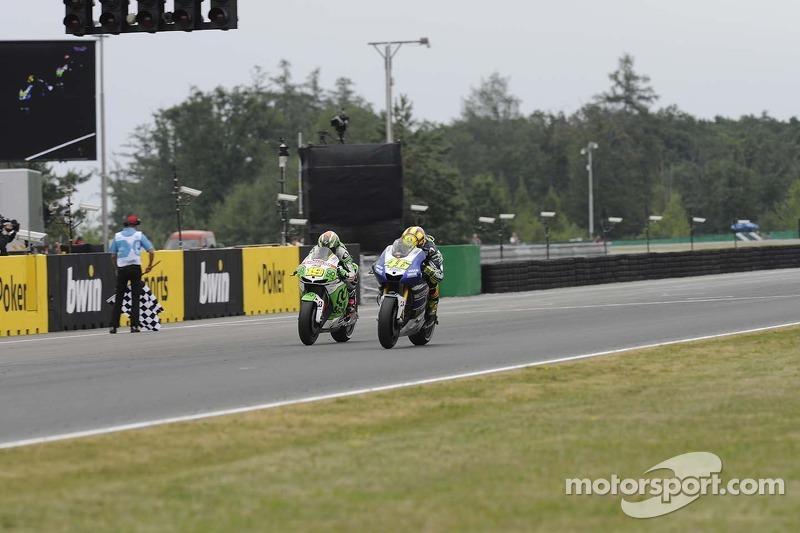 Alvaro Bautista, Go&Fun Honda Gresini en Valentino Rossi, Yamaha