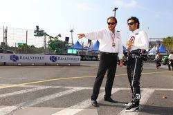 Beau Barfield and Dario Franchitti, Target Chip Ganassi Racing Honda
