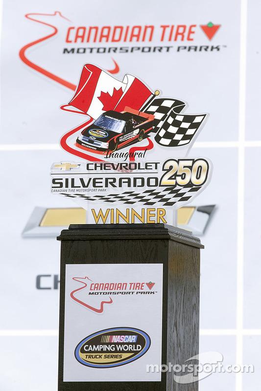 Silverado 250 trofeu