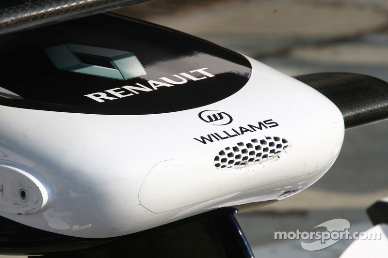 Williams F1 detail