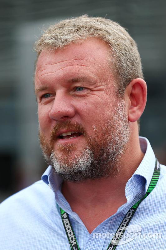 Richard Goddard, empresário de pilotos de Paul di Resta, Sahara Force India F1 e Jenson Button, McLaren