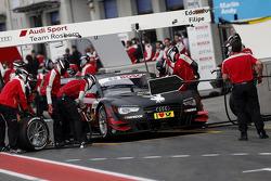 Pit stop Edoardo Mortara, Audi Sport Team Rosberg Audi RS 5 DTM