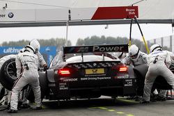 Pit stop Bruno Spengler, BMW Team Schnitzer BMW M3 DTM
