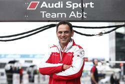 Hans-Juergen Abt, team boss Audi Sport Team Abt Sportsline