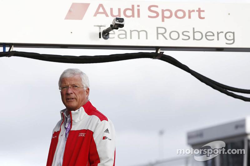 Arno Zensen, teambaas Audi Sport Team Rosberg
