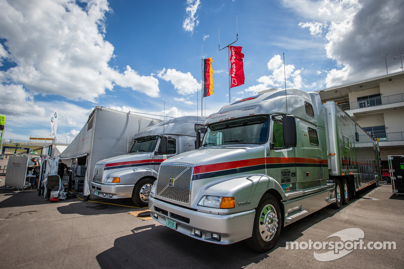 Audi Sport Team Joest transporters