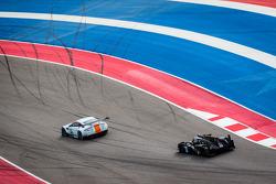 #97 Aston Martin Racing Aston Martin Vantage V8: Stefan Mücke, Darren Turner, #32 Lotus Lotus T128: Thomas Holzer, Dominik Kraihamer, Jan Charouz