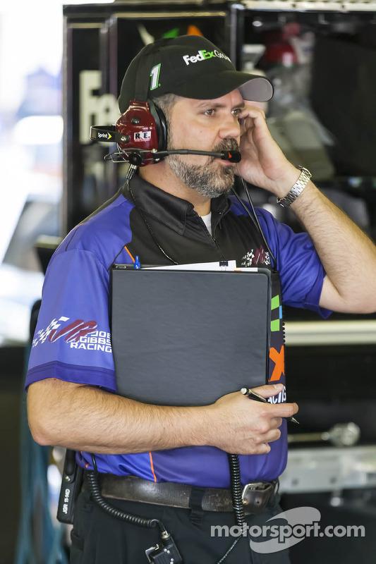 Darian Grubb, chefe de equipe de Denny Hamlin
