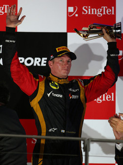 3rd place Kimi Raikkonen, Lotus F1 Team
