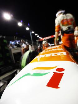 Sahara Force India F1 VJM06 on the grid