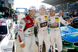 Top three qualifiers Mike Rockenfeller, Marco Wittmann and Augusto Farfus