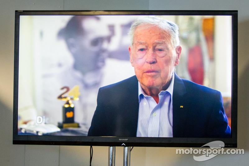 Amerikaanse coureurs bij het Le Mans-evenement: Dick Thompson maakt onderdeel uit van de Le Mans Dri