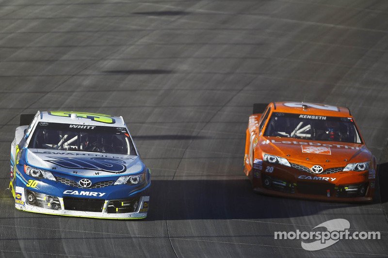 Cole Whitt en Matt Kenseth