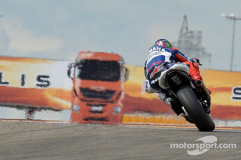 Jorge Lorenzo, Yamaha Factory Racing, en el GP de Aragón 2016