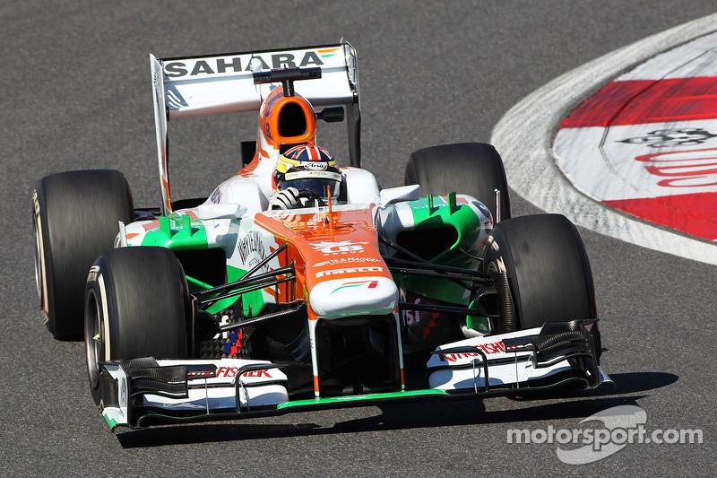 James Calado, Sahara Force India VJM06 Test Driver