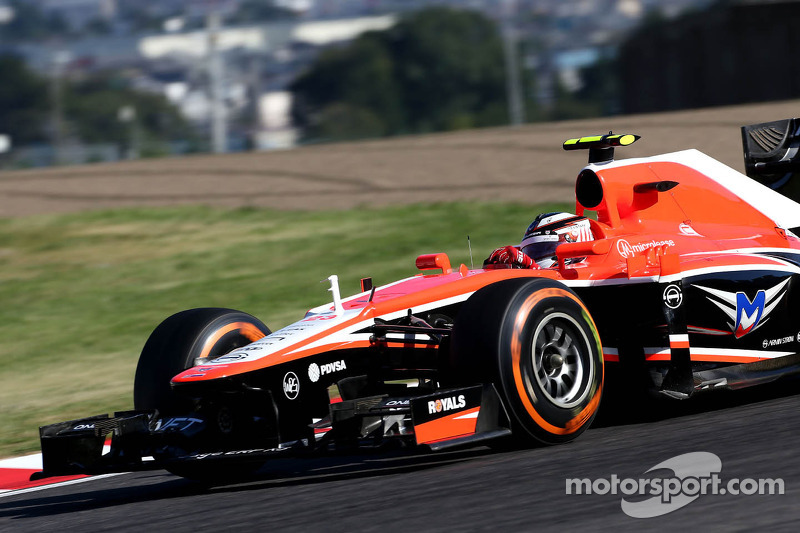 Max Chilton, Marussia F1 Team