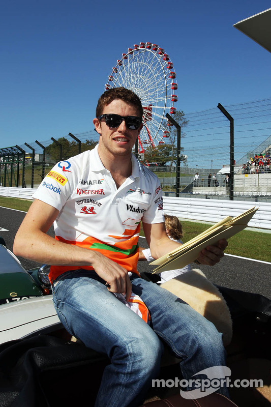 Paul di Resta, Sahara Force India F1 no desfile de pilotos