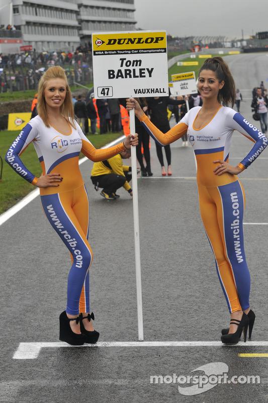 RCIB Insurance Racing Grid Girls