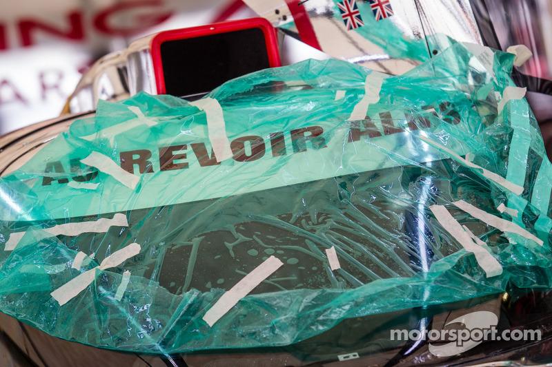 'Au revoir ALMS' bericht op de #0 DeltaWing Racing Cars DeltaWing DWC13 Elan