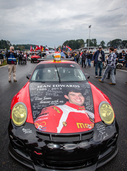 #30 NGT Motorsport Porsche 911 GT3 Cup with the Sean Edwards memorial livery