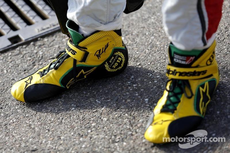 Kampioensschoenen van Mike Rockenfeller, Audi Sport Team Phoenix Racing Audi A5 DTM