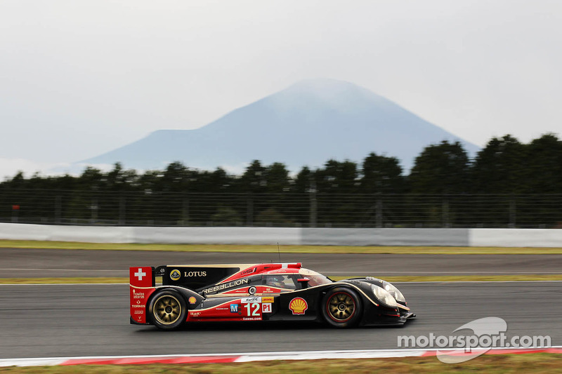 #12 Rebellion Racing Lola B12/60 Coupe - Toyota: Andrea Belicchi, Mathias Beche