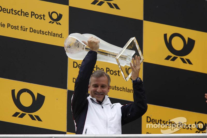 Kampioenspodium, Winnende fabrikant, BMW met Jens Marquardt, BMW Motorsport Director