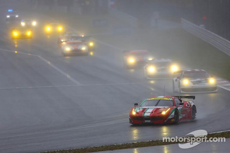 #71 AF Corse Ferrari F458 Italia: Kamui Kobayashi, Toni Vilander