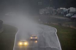 #06 CORE autosport Porsche 911 GT3 RSR: Patrick Long, Colin Braun, Michael Christensen, #45 Flying Lizard Motorsports Porsche 911 GT3 Cup: Nelson Canache, Spencer Pumpelly, Madison Snow