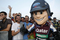 La mascotte M-Sport World Rally Team