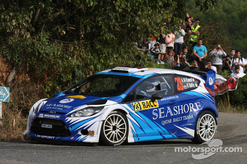 Abdulaziz Al Kuwari y Killian Duffy, Ford Fiesta RRC