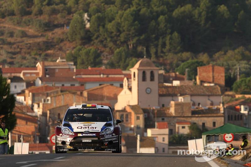 Thierry Neuville y Nicolas Gilsoul, Ford Fiesta WRC, Qatar M-Sport WRT
