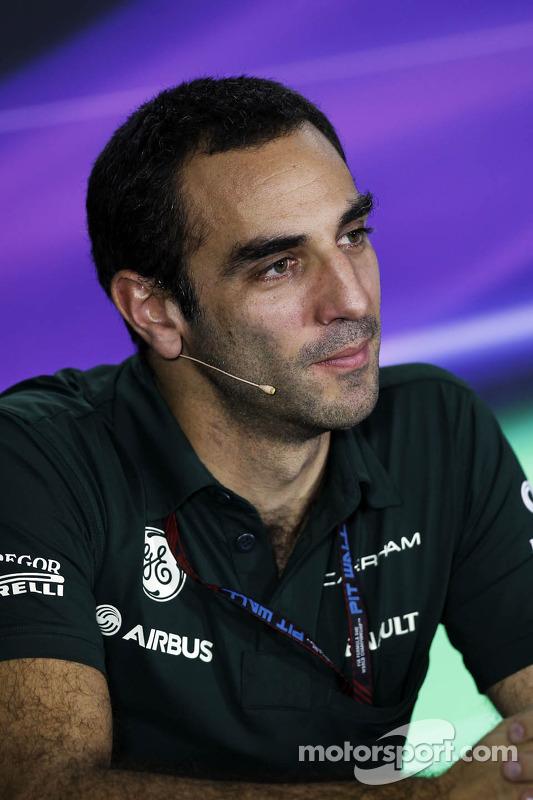 Cyril Abiteboul, Chefe de equipe da Caterham F1, na Conferência de Imprensa FIA