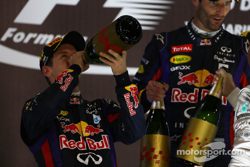 1e plaats Sebastian Vettel, Red Bull Racing