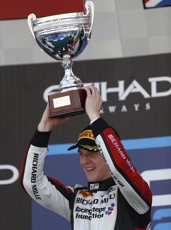 Race winner James Calado
