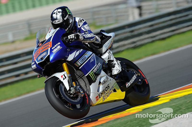 Jorge lorenzo yamaha factory racing at valencia gp jorge lorenzo yamaha factory racing voltagebd Images