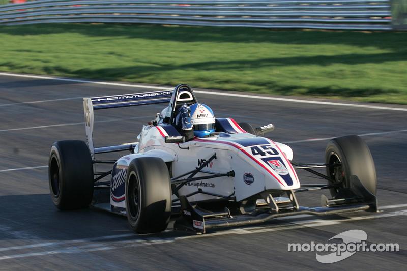 Will Palmer, terceiro colocado