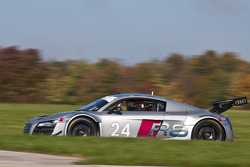 The Audi R8 Grand-Am during testing