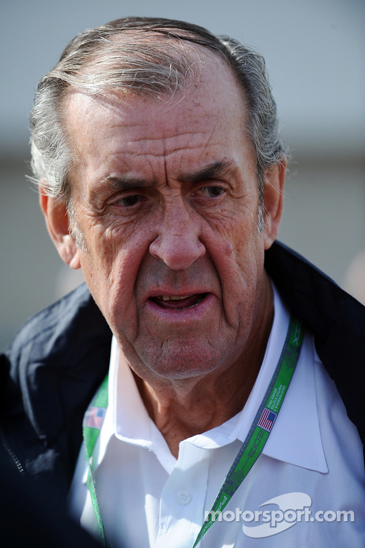 David Hobbs, NBC Sports Comentador withi Leigh Diffey, NBC Sports Comentador