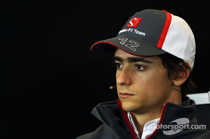 Esteban Gutiérrez, Sauber en la Conferencia de prensa FIA