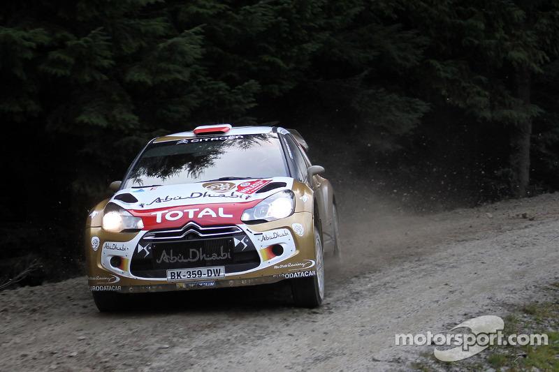 Robert Kubica y Michele Ferrara, Citroën DS3 WRC