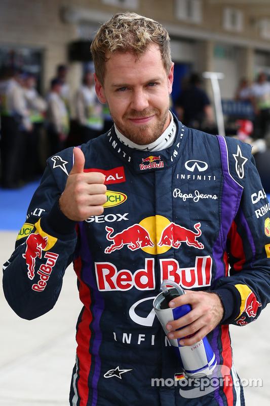 Pole for Sebastian Vettel, Red Bull Racing