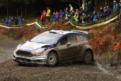Elfyn Evans and Daniel Barrit, Ford Fiesta R5