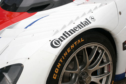 Continental tires detail