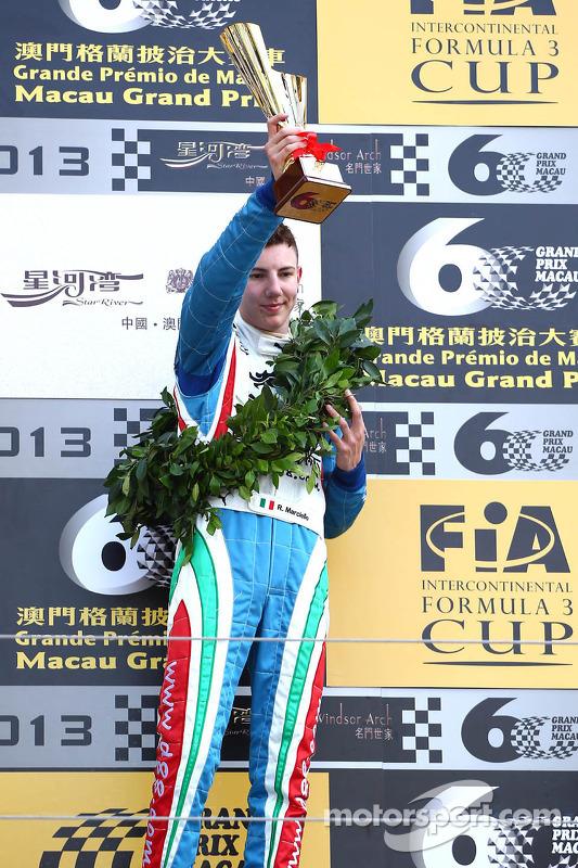 terceiro colocado Raffaele Marciello